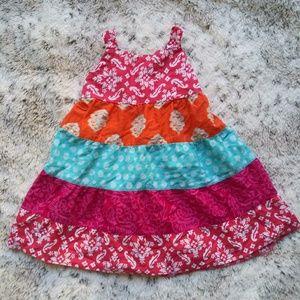 Bright Colorful Children's Place Sun dress